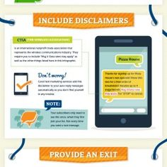 This extremely informative infographic highlights 8 core best practices that every marketer should be following when engaging their audiences with tex