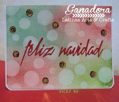 Latinas Arts and Crafts: Ganadora del Tutorial # 72 Bokeh Background