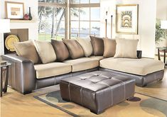 Shop for a Gregory 7 Pc Sectional Living Room at Rooms To Go. Find Living Room Sets that will look great in your home and complement the rest of your furniture.