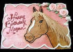 Lots of pony birthday cake ideas on this website