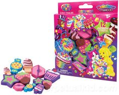 Lisa Frank Sweet Treat Erasers, $5.29 | 30 Cute Stocking Stuffers For Everyone In Your Life