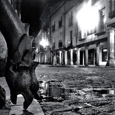 Gargoyle / La Gargola Rendida a los pies de Alcalá de Henares - Foto: José Martos López