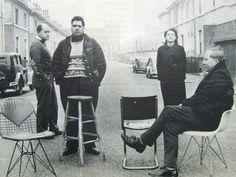 Peter Smithson, Eduardo Paolozzi, Alison Smithson, Nigel Henderson