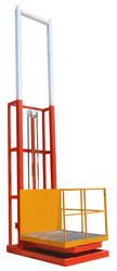 Shreejee Elevators are Manufacturer and Supplier of Industial Goods Lift using best quality basic material. We provide wide range of quality assured Industrial goods Lift.