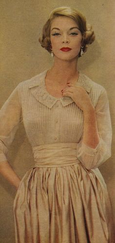 50's Fashion Icon Jean Patchett. Das will ich auch!!! Makeup u Hair