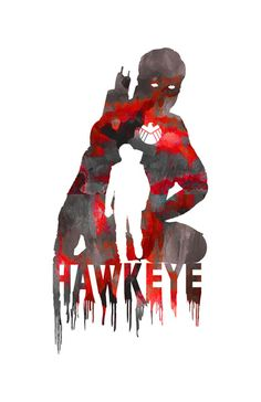 Hawkeye, I want this on a shirt!