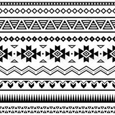 GraphicRiver Aztec Mexican Seamless Pattern 5511311