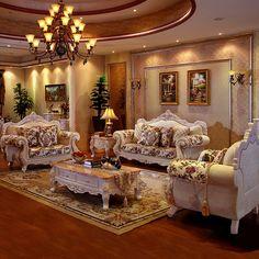 Luxus Möbel Stoff Sofa Wohnzimmer Möbel Set Gruppe Kauf Großhandel Preis  Dekoration