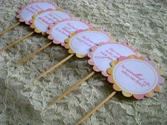 FREE Proverbs 31 Cupcake Toppers with Tutorial
