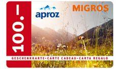 Gewinne mit Aproz täglich 6 x 1 @Migros #Einkaufsgutschein im Wert von je CHF 100.- , sowie 7 x wunderschöne #Familienferien im #Wallis für je 4 Personen in den schönsten Feriendestinationen der Region. Alle Preise haben einen Gesamtwert von CHF 50'000.- Jetzt hier mitmachen: http://www.alle-schweizer-wettbewerbe.ch/gewinne-taeglich-migros-einkaufsgutscheine/