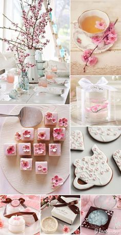 New Spring Bridal Shower Favors Cherry Blossoms Ideas Tea Party Bridal Shower, Bridal Shower Favors, Wedding Favors, Party Favors, Wedding Shoes, Wedding Venues, Wedding Dresses, Bridal Showers, Wedding Rings
