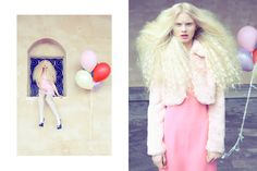 Childhood Dream, fashion editorial by Hannah Hedin