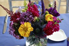 Falls Flowers - Summer wedding at the National Museum of Jewish History
