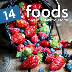 Keeping yourself regular is the cornerstone to a healthy life, and these foods that make you poop will definitely help you out in that department. Here is our list of foods that help with constipation so you're never left straining to go again. 1. Berries Pick a berry, any berry, and chances...