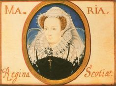 Miniature of Mary Queen of Scots, by Nicholas Hilliard, c.1578. (Private Collection)