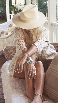 Ibiza style Super leuk jurkje en sieraden