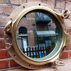 Port Hole Mirror.