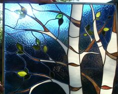 stained glass birch tree - Yahoo Image Search Results