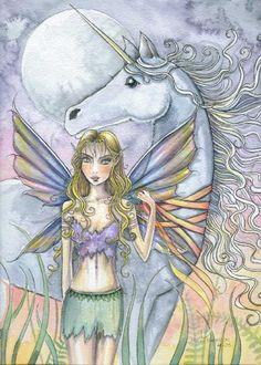 Fairy Art: Captured by Artist Molly Harrison