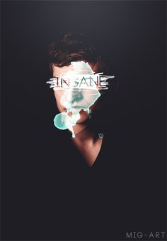 teen wolf - isaac lahey seriously tho, I don't understand this. Isaac isn't insane at all. Stiles, I think, it who this person meant. They totally messed up the edit. -__-