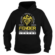 FENDER Legend - FENDER Last Name, Surname T-Shirt
