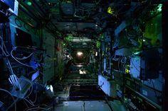 Space Station at night. Publicada 31/10/2014 12:21 pm. Fotografía © ESA/NASA