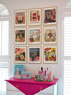 Picture wall - Cush and Nooks