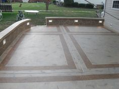 Repair Concrete Driveway Stamped Patio Awesome Ideas Installation For Small Backyards Photo Resurfacing Contractors Design Good Patios Johns Floors Cement Milford Of Backyard Concrete Patio Designs With Concrete Driveway Contractors, Concrete Overlay Cost And Concrete Patio Installation