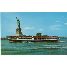 ALMA Posstcard Circle Line Yacht with Statue of Liberty NYC Listing in the New York,USA,Topographical,Postcards,Collectables Category on eBid United Kingdom | 167830631