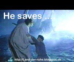 Die entscheidende Erfahrung ist NICHT Wasser trägt - sondern Jesus hält!