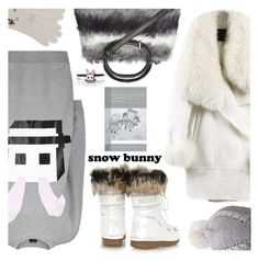"""""""Winter Fun: Snow Bunny Style"""" by the-reluctant-dragon ❤ liked on Polyvore featuring Call Of The Wild, McQ by Alexander McQueen, WithChic, Moon Boot, UGG Australia, Dorothy Perkins, Wyatt and snowbunny"""