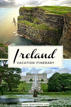 7 Days In Ireland Itinerary - THE EVOLISTA Ireland travel best spots, must see places and travel tips in a 7 day Ireland itinerary. See Dublin, Galway, Cliffs of Moher, Northern Ireland and more. #irelanditinerary #irelandtravel #irelandvacation #dublin #northernireland