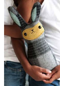 Cute toy made from old scarf