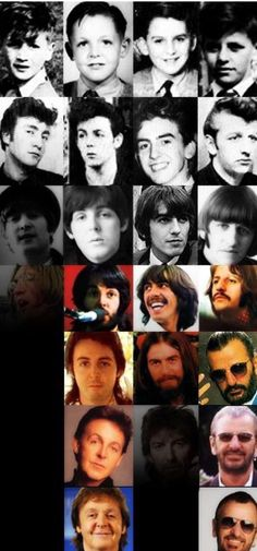 Rest in peace George and John❤️ And love to Ringo and Paulie❤️❤️❤️