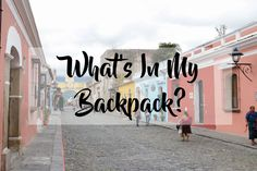 What's In My Backpack?   brittanymthiessen.com