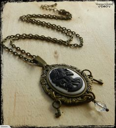 Beautiful Gothic Victorian Skeleton Women Necklace for sale on Trade Me, New Zealand's auction and classifieds website Victorian Gothic, Skeleton, Pocket Watch, Necklaces, Accessories, Beautiful, Women, Fashion, Moda