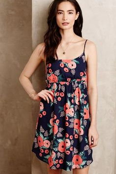 Anthropologie POSEY BOUQUET PETITE DRESS #anthrofave #riflepaperco