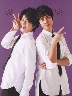 Kame & Yamapi TV life mag