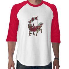 carousel horse_red_detail shirt #t-shirts #fashion #men