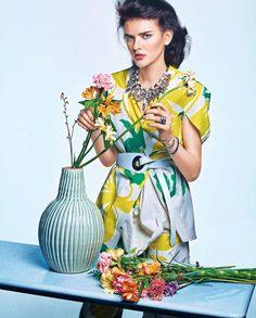 Dorota Kullova for Marie Claire France June 2015 - Marni