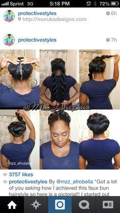 Protective style with extension