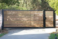 Metal Driveway Gates, Metal Gates, Wooden Gates, Side Gates, Front Gates, Entrance Gates, Yard Gates, House Fence Design, Front Gate Design