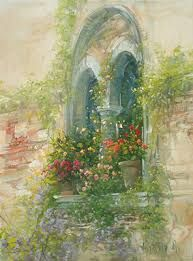 Resultado de imagen para antonietta varallo Beautiful Fantasy Art, Beautiful Paintings, Cottage Art, Garden Painting, Natural Scenery, Italian Artist, Art Images, Flower Art, Landscape Paintings