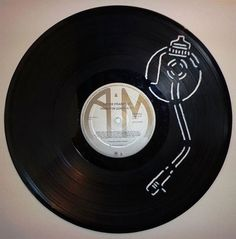 Take a look at these incredible hand-cut vinyl records crafted by Facebook user Cb Vinyl Record Art. https://www.facebook.com/CbVinylRecordArt