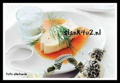 Zalmmousse Mousse, Panna Cotta, Snacks, Ethnic Recipes, Food, December, Healthy Recipes, Halloween, Dulce De Leche