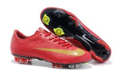 Cristiano Ronaldo Soccer Boots red Soccer Cleats Vapor Superfly III football shoes