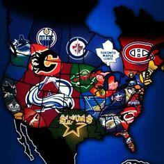 One big hockey nation! #NHL                                                                                                                                                                                 More