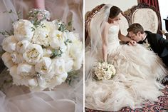Lovely bride's bouquet by Ricky Whitley Florist @RickyWhitley Bridaleventsflorist
