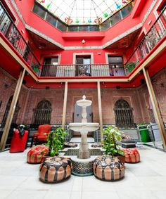 Check out these cool hostels that cost less than $50 per night.