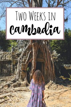 An extensive two week Cambodia Travel Guide - with lots of tips, must-see places and insider stories!